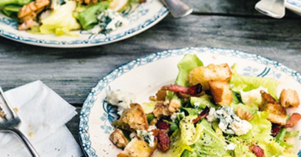 Salade d'endives au lard - Endiviensalat mit Speck