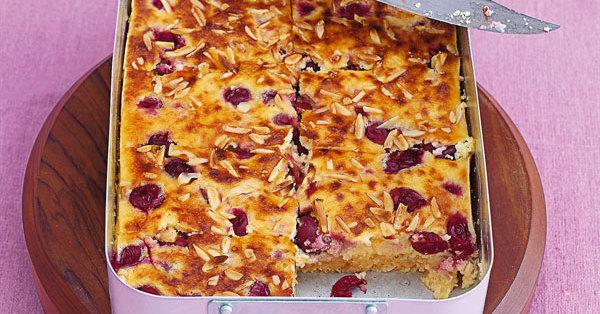 Kirsch Schmand Kuchen Rezept Kuchengotter
