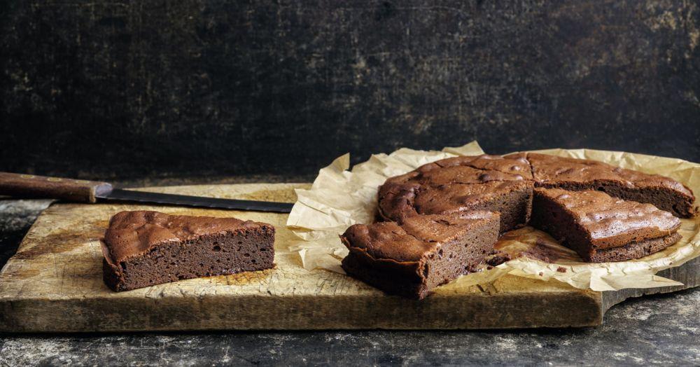 Schoko-Kuchen mit nur drei Zutaten