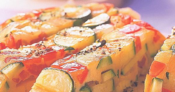 vegetarische zucchini frittata rezept k cheng tter. Black Bedroom Furniture Sets. Home Design Ideas
