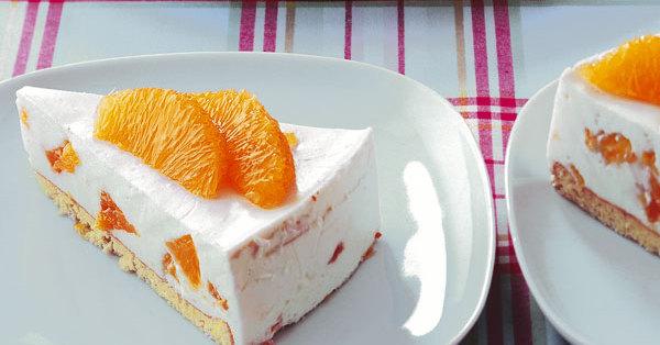 Orangen-Quark-Torte