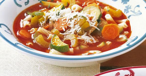 Italienische Gemüsesuppe