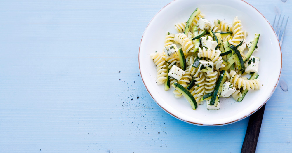 Zucchini-Nudel-Salat