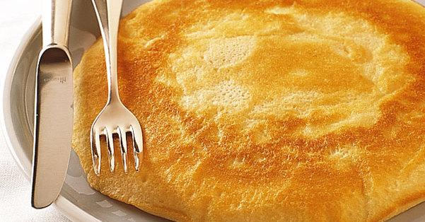 Eiweiß-Pfannkuchen - Schaumpfannkuchen