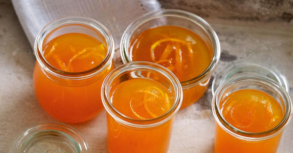 Orangengelee mit Campari Rezept | Küchengötter