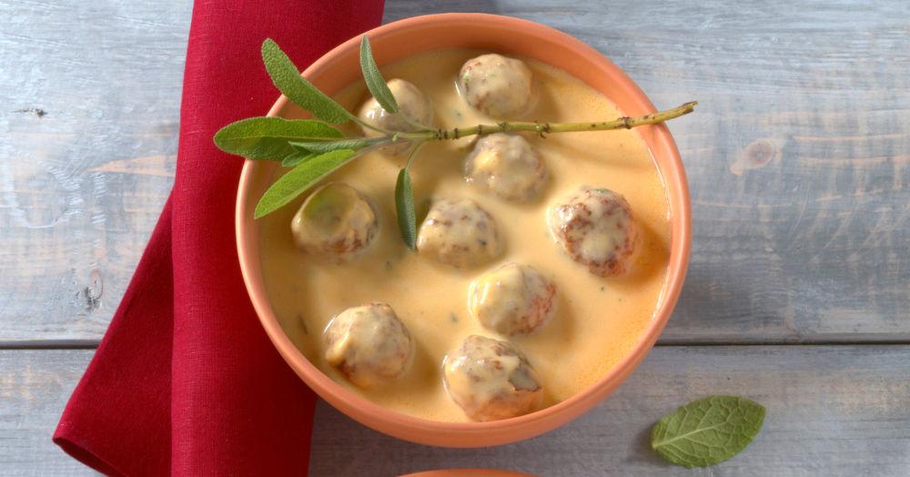 Salbei-Käse-Sauce