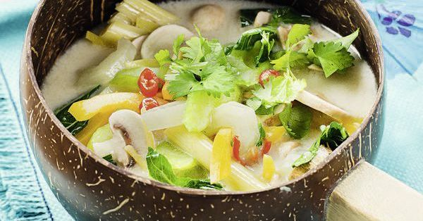 Kokos-Gemüse-Suppe
