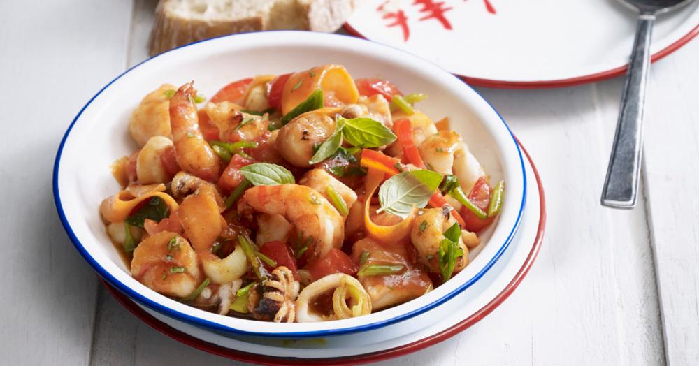 Seafood-Wok