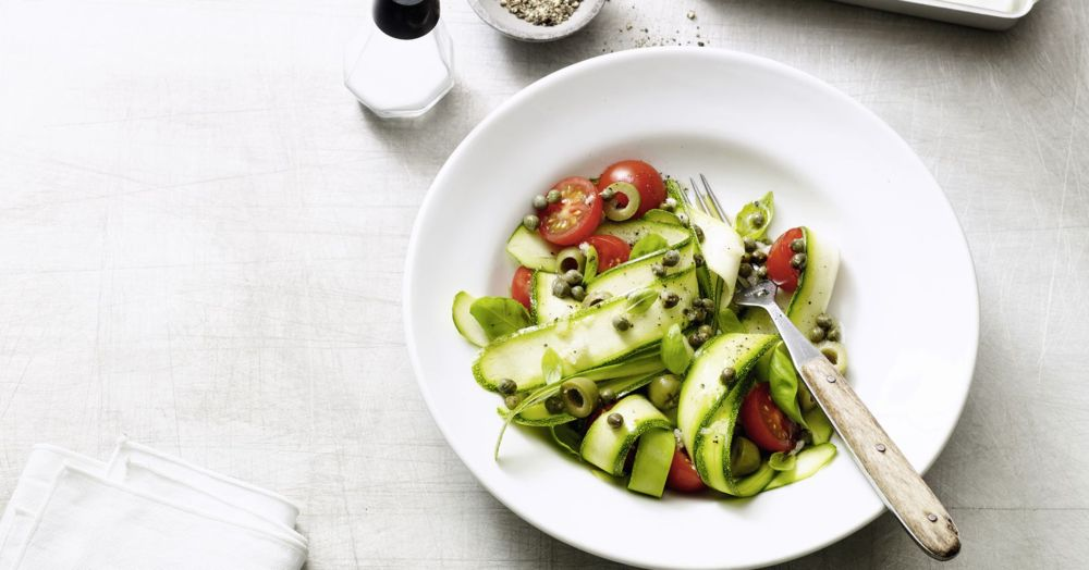Zucchininudel-Salat – Paleo