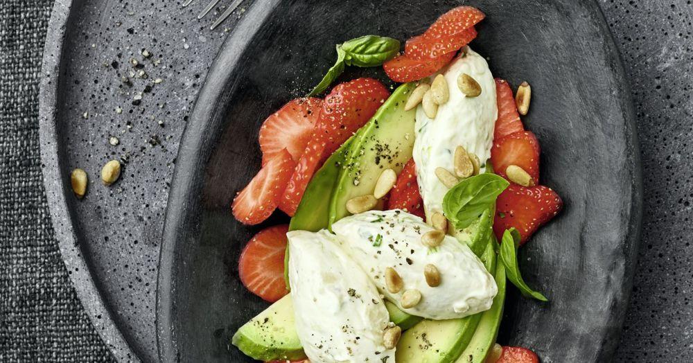 Avocadosalat mit Erdbeeren | Rezept für den Thermomix