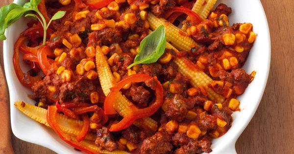 Mais Hackfleisch Gratin Rezept Küchengötter