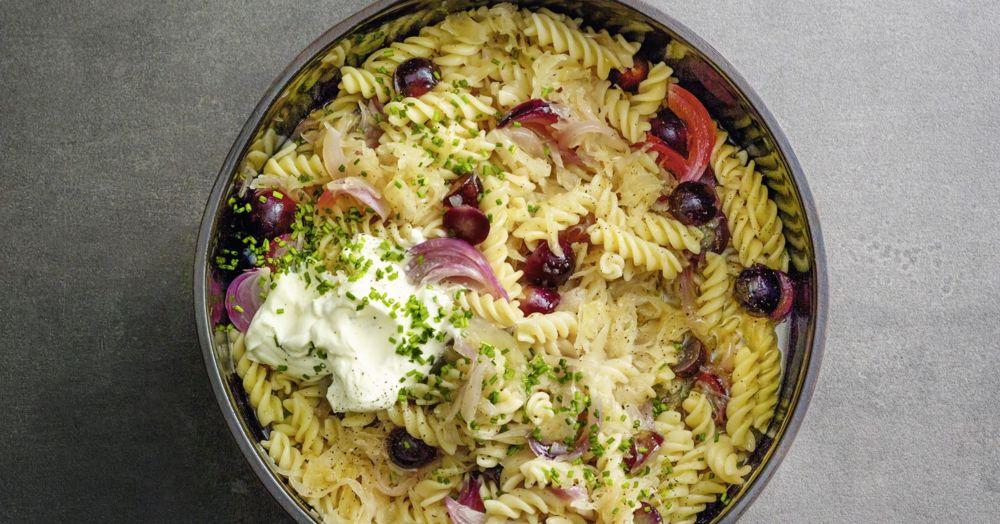 Elsässer Nudeltopf One Pot Pasta