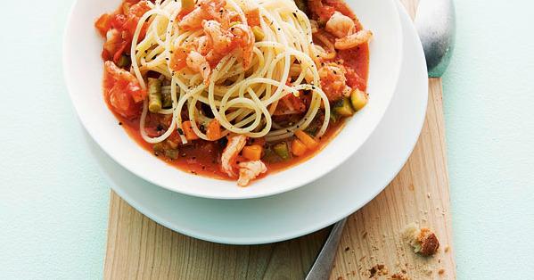spaghetti mit garnelen bolognese rezept kuechengoetter