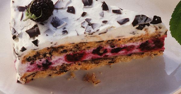 Stracciatella Brombeer Torte Rezept K 252 Cheng 246 Tter