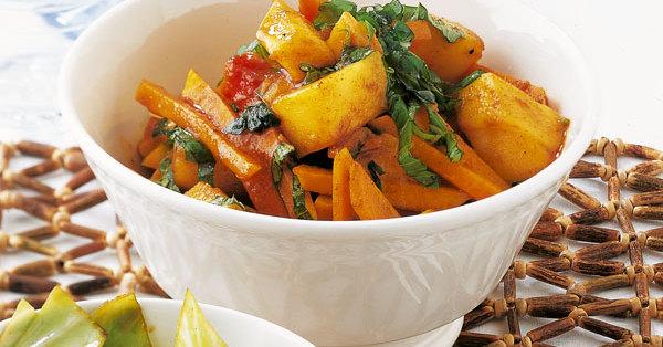 kuerbis mango curry rezept kuechengoetter