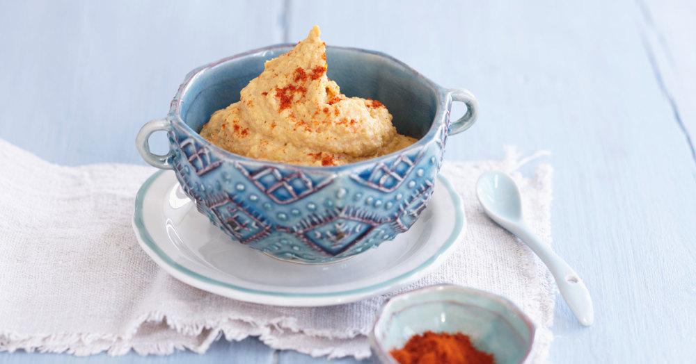 Veganer Möhren-Hummus