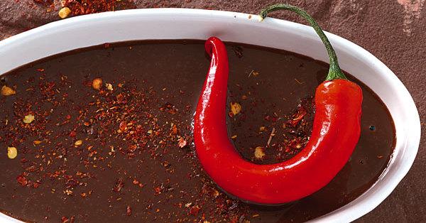 Chili-Schoko-Sauce