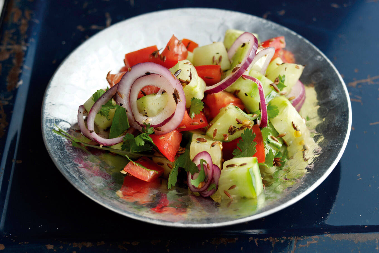 mit gurken und tomaten abnehmen