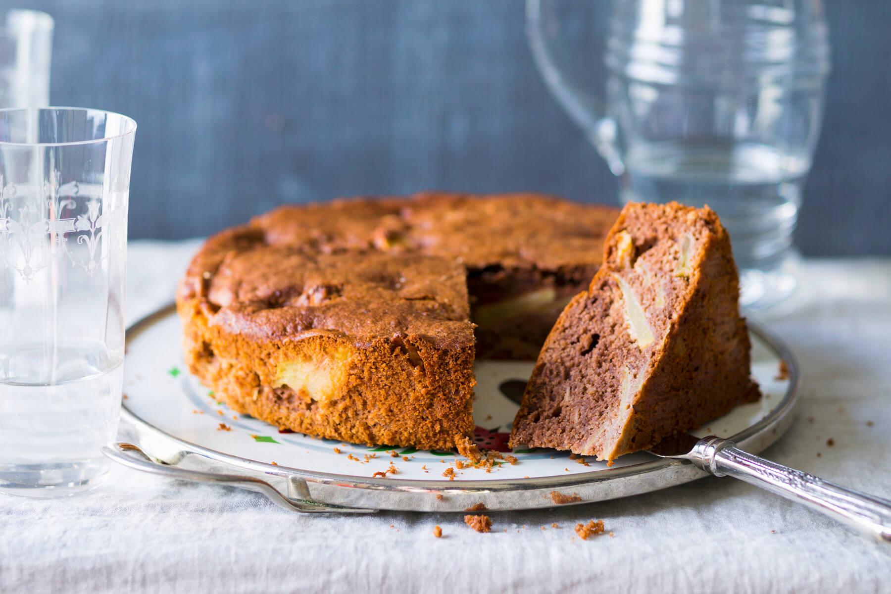 Apfelkuchen mit Stevia Rezept