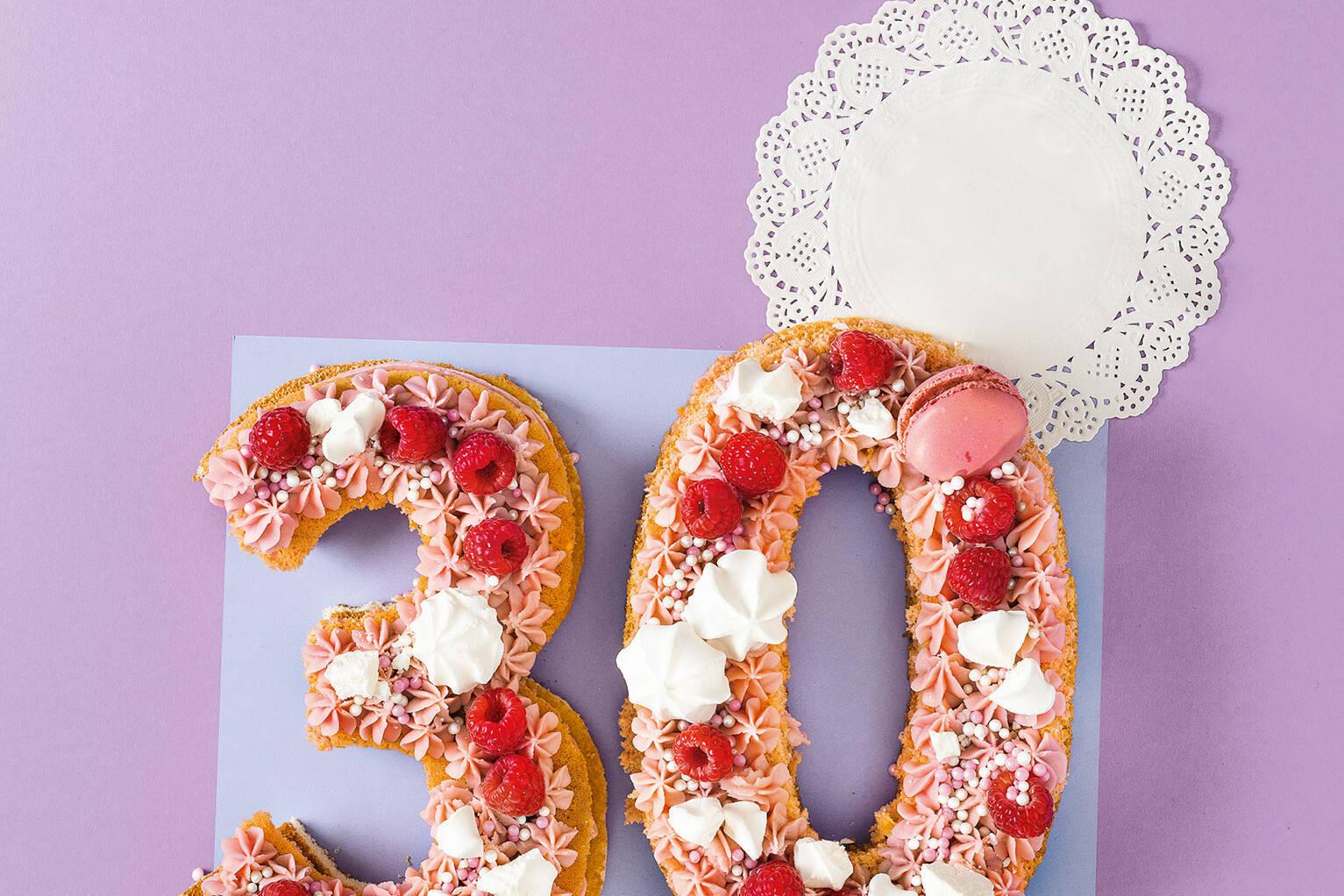 number cakes selber machen  anleitung und vorlagen