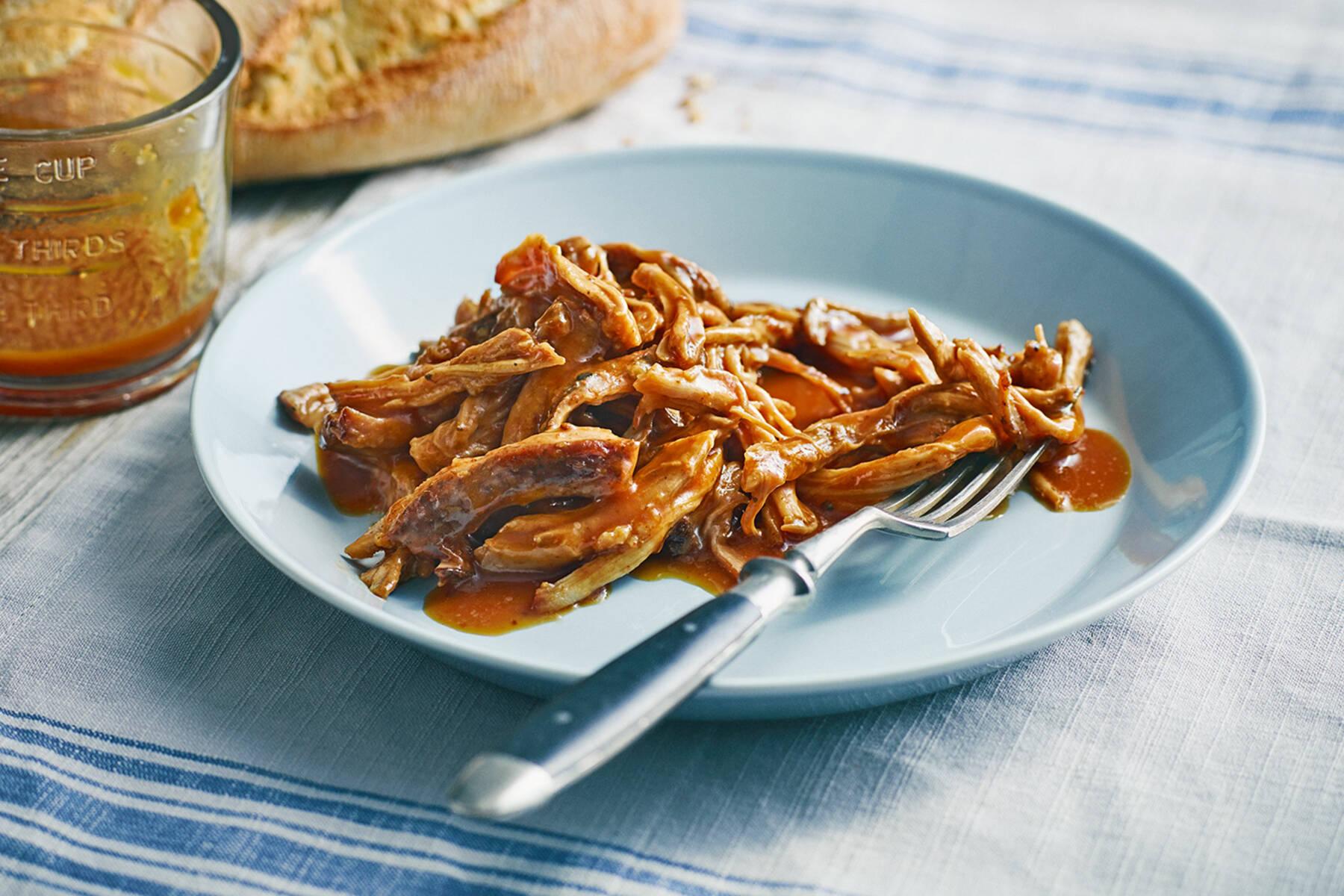 Pulled Pork Rezept - Schweinebraten gezupft | Küchengötter