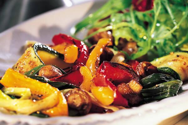 Gegrilltes Gemüse Mit Champignons Rezept Küchengötter