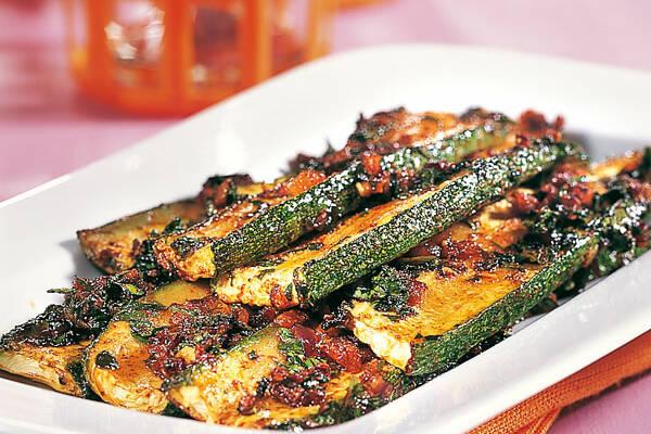 Zucchini mit Chermoula