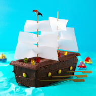 Piratenschiff Torte