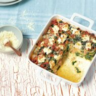 Salsicce-Spinat-Lasagne – Low Carb