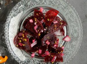 rote bete ananas salat rezept k cheng tter. Black Bedroom Furniture Sets. Home Design Ideas