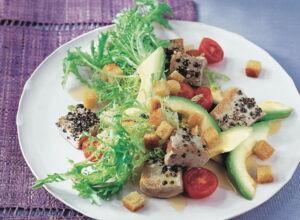 shrimps salat mit avocado rezept k cheng tter. Black Bedroom Furniture Sets. Home Design Ideas