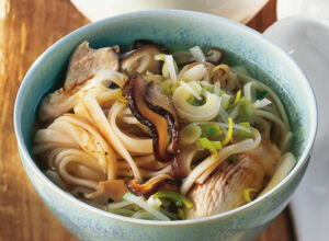 Udon-Nudelsuppe