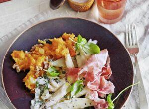 schwarzwurzelcremesuppe mit waln ssen rezept vegetarisch k cheng tter. Black Bedroom Furniture Sets. Home Design Ideas