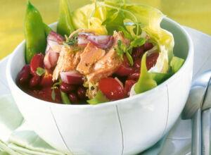 gr ne bohnen salat mit thunfisch rezept k cheng tter. Black Bedroom Furniture Sets. Home Design Ideas