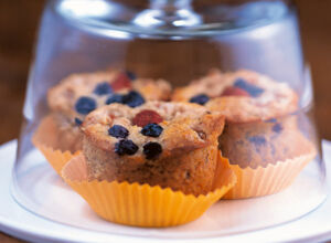 Low Carb Beeren-Muffins