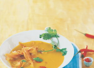 Kartoffel-Curry-Suppe