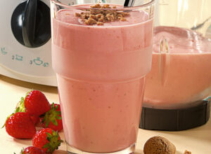 Erdbeer-Amarettini-Smoothie
