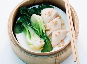 tofu pak choi wraps mit chilidip rezept k cheng tter. Black Bedroom Furniture Sets. Home Design Ideas