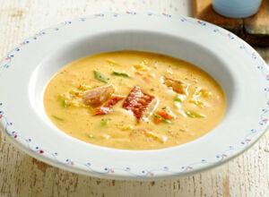 Käse-Lauch-Suppe Rezept | Küchengötter