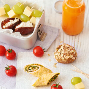 Bentobox mit Smoothie