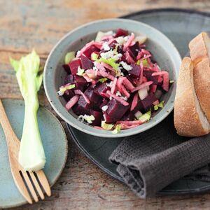 rote bete salat rezept k cheng tter. Black Bedroom Furniture Sets. Home Design Ideas