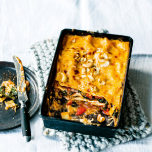 Mangold-Curry-Lasagne