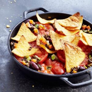 linsen chili mit nacho kruste rezept k cheng tter. Black Bedroom Furniture Sets. Home Design Ideas