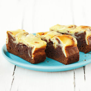 Käsesahne-Brownies