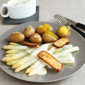 spargel mit veganer sauce hollandaise rezept k cheng tter. Black Bedroom Furniture Sets. Home Design Ideas
