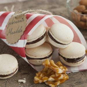 macarons mit gebrannten mandeln rezept k cheng tter. Black Bedroom Furniture Sets. Home Design Ideas