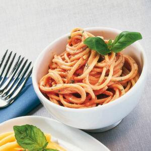 28293 rezepte f r spaghetti mit tomatenpesto. Black Bedroom Furniture Sets. Home Design Ideas