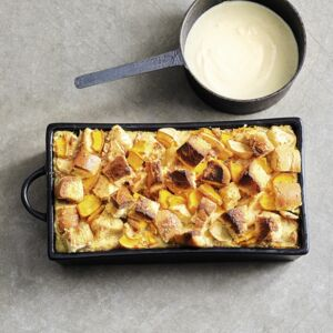 Kürbis Brotauflauf Rezept Küchengötter
