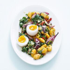 Rezept f r spinat zwiebel gnocchi k cheng tter - Eier kochen ohne anstechen ...