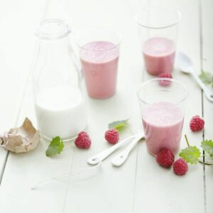 Himbeer-Gundermann-Smoothie